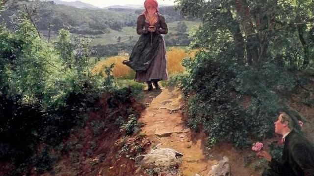 Săm soi tranh vẽ từ năm 1860 phát hiện nhân vật chính cầm một thứ rất giống iPhone
