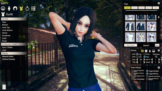 Nàng trợ lý ảo Samsung xuất hiện trong tựa game 18+ Honey Select 2