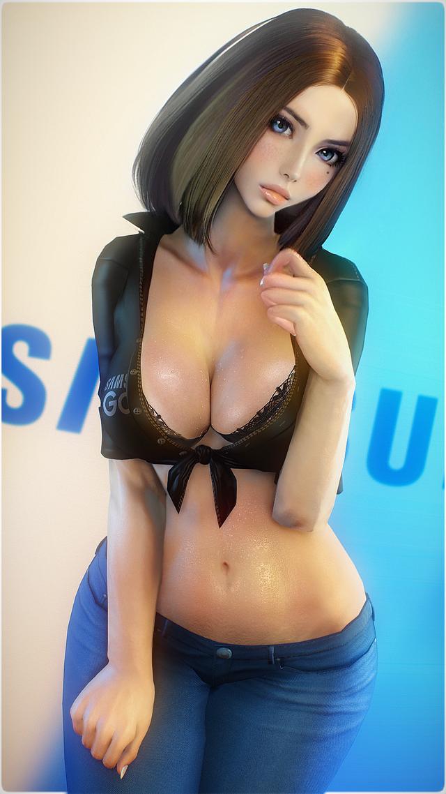 Nữ trợ lý ảo của Samsung trở thành tiêu điểm với hàng loạt pha biến thân 18+ khoe thân nóng bỏng