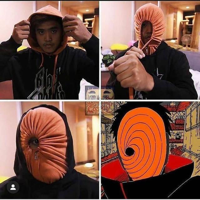Hóa trang thành tổ chức khủng bố Akatsuki trong Naruto siêu dễ với gợi ý đến từ thánh
