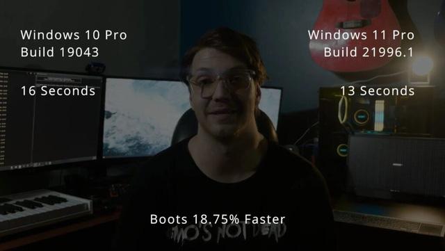 """Anh em game thủ """"tươm rồi"""", Windows 11 chạy mượt hơn Windows 10 đến 15%"""