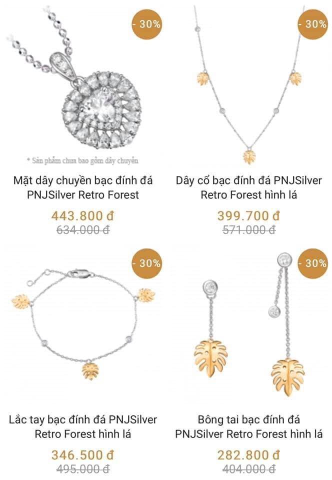 Top 6 Tiệm trang sức bạc đẹp nhất Quảng Ngãi