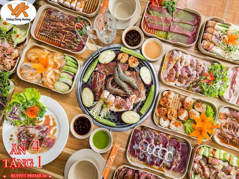 Top 15 địa chỉ buffet ngon giá rẻ, hút khách nhất ở Tp. HCM