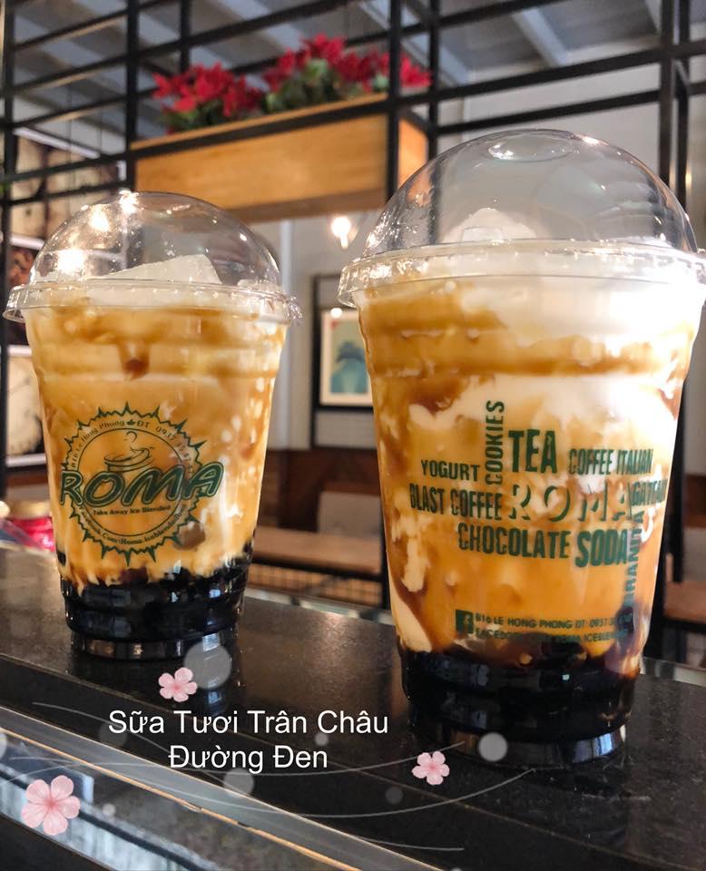 Top 9 Quán sữa tươi trân châu đường đen ngon nhất tại TP. Buôn Ma Thuột.