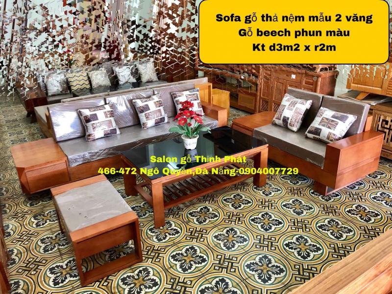 Top 7 Địa chỉ bán salon gỗ đẹp nhất Đà Nẵng