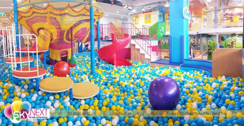 Top 6 Công ty chuyên thiết kế, thi công khu vui chơi trẻ em chuyên nghiệp nhất TP. HCM