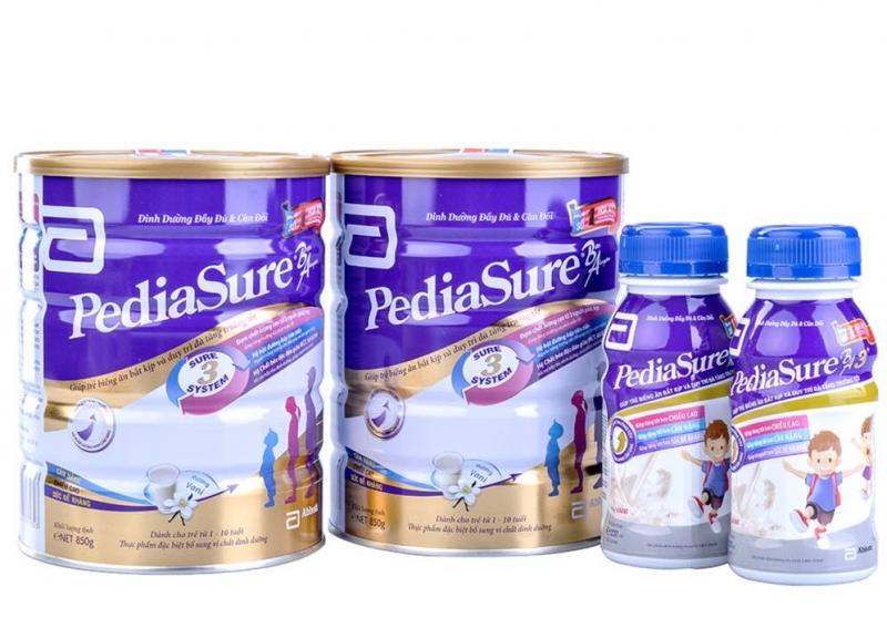 Top 10 Loại sữa giúp trẻ tăng cân tốt nhất năm 2021 được các mẹ tin dùng