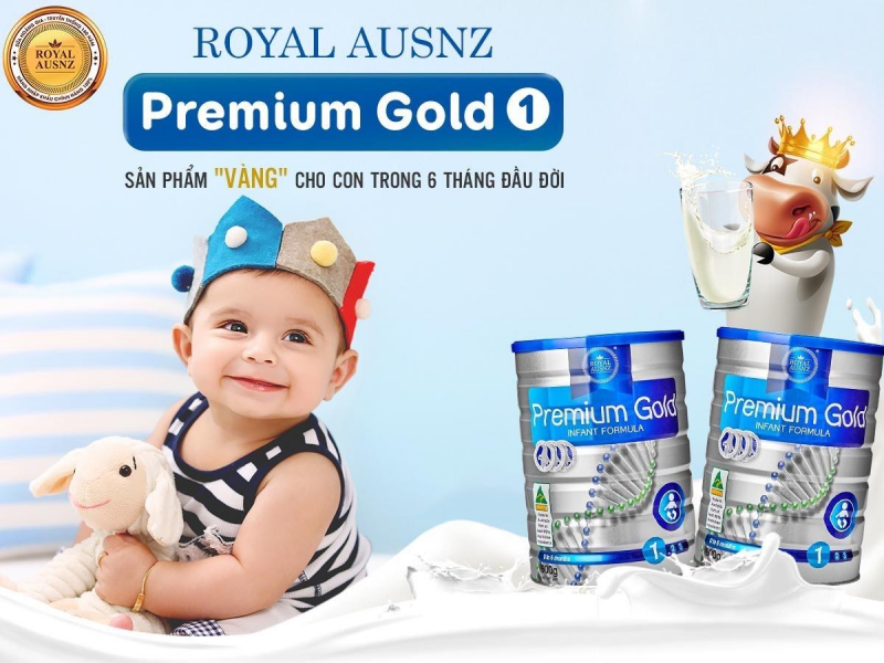 Top 6 Sữa tăng cân cho trẻ sơ sinh từ 0-6 tháng tuổi tốt nhất