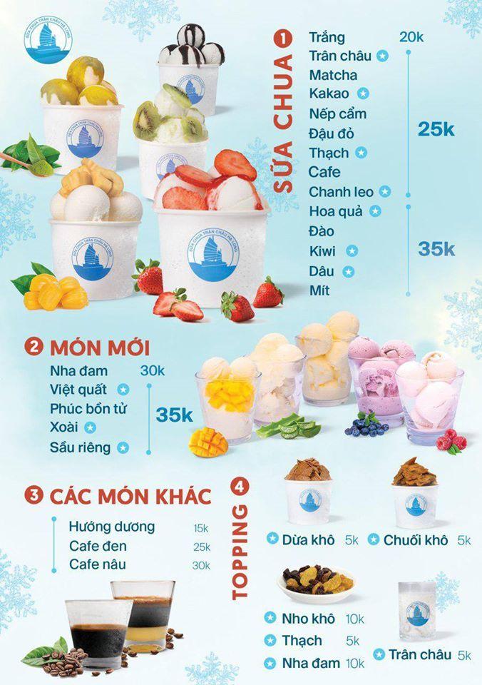 Top 7 Quán sữa chua trân châu ngon nhất quận Hoàn Kiếm, Hà Nội
