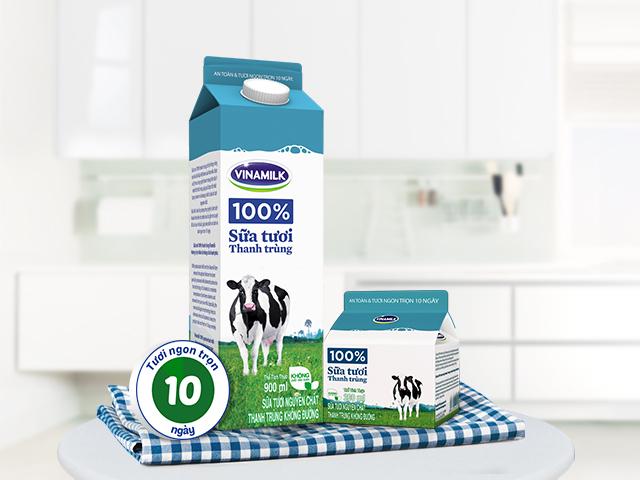 Top 10 Sữa tươi thanh trùng tốt nhất hiện nay