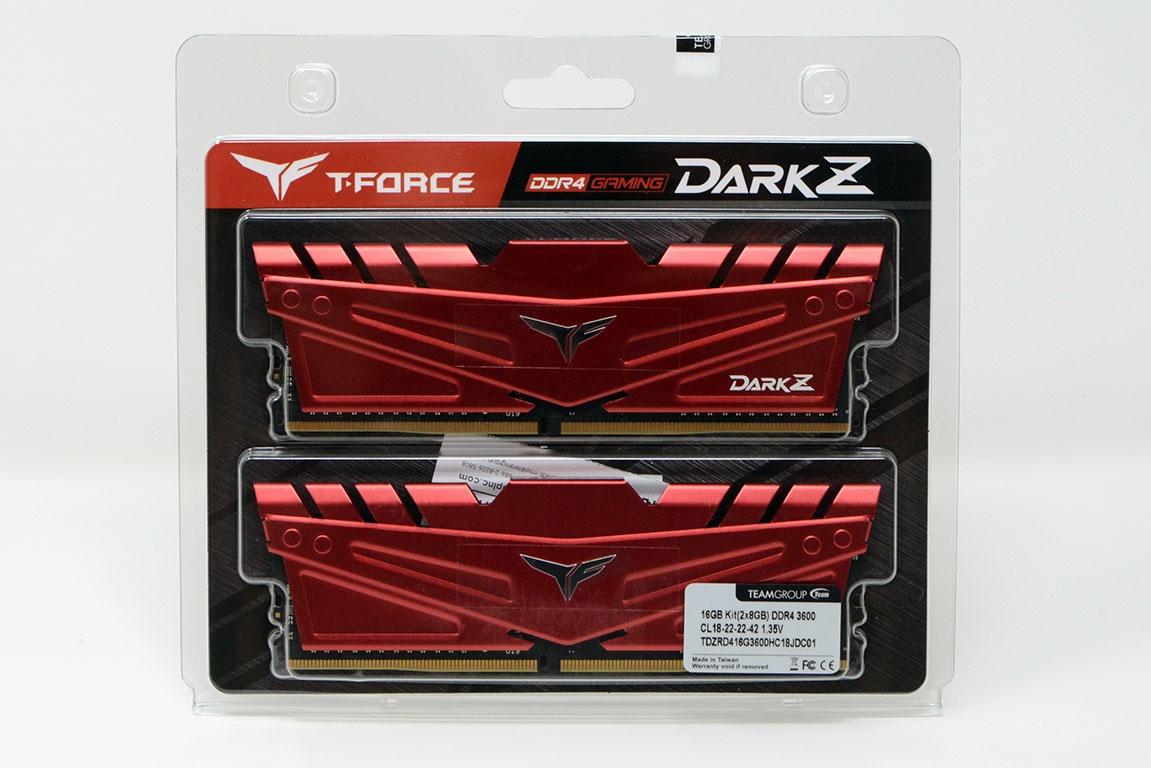 TeamGroup T-Force Dark Z DDR4-3600MHz – Hiệu năng cao, giá tốt cho máy tính game