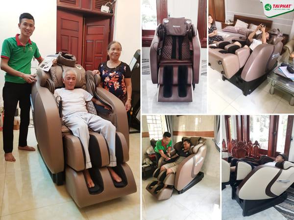 Top 5 Địa chỉ bán ghế massage uy tín nhất Hải Dương