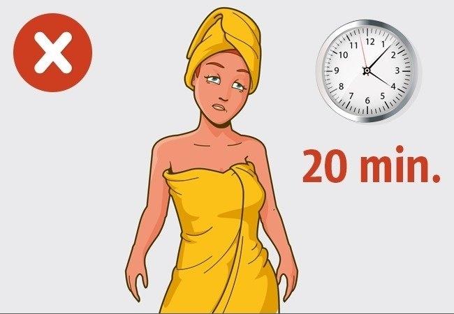 Top 14 Sai lầm thường mắc phải khi tắm mà bạn không hay biết