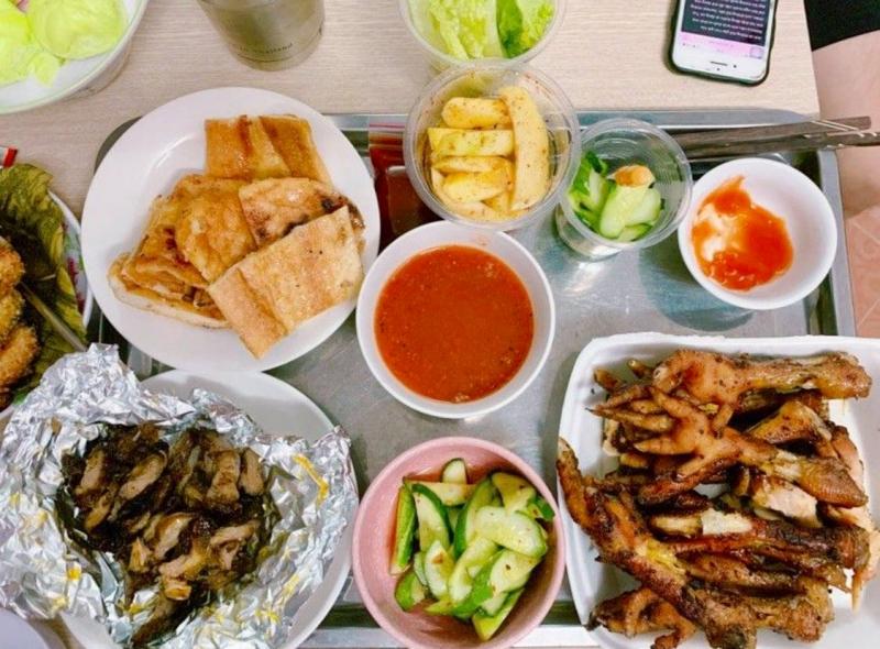 Top 9 Quán chân gà nướng ngon tại quận Hai Bà Trưng, Hà Nội