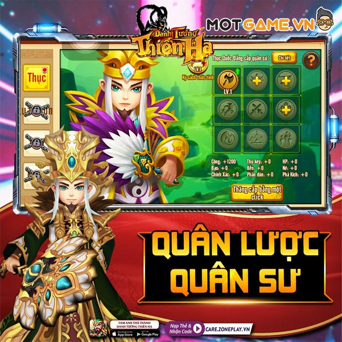 Game Thủ Tam Anh Thủ Thành thích thú khám phá phiên bản mới Danh Tướng Thiên Hạ