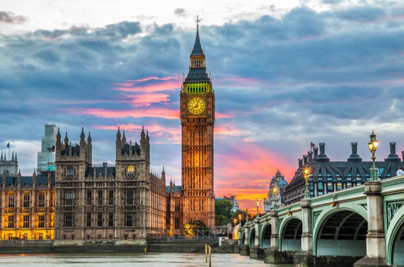 Top 20 địa điểm du lịch hấp dẫn nhất tại nước Anh
