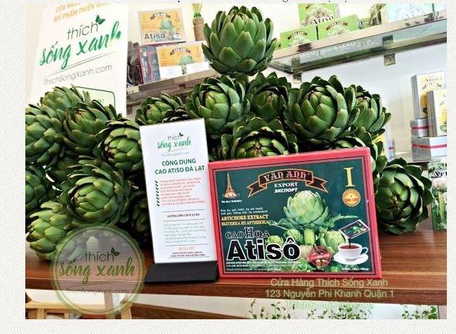 Top 4 địa chỉ bán cao Atiso uy tín nhất tại TPHCM