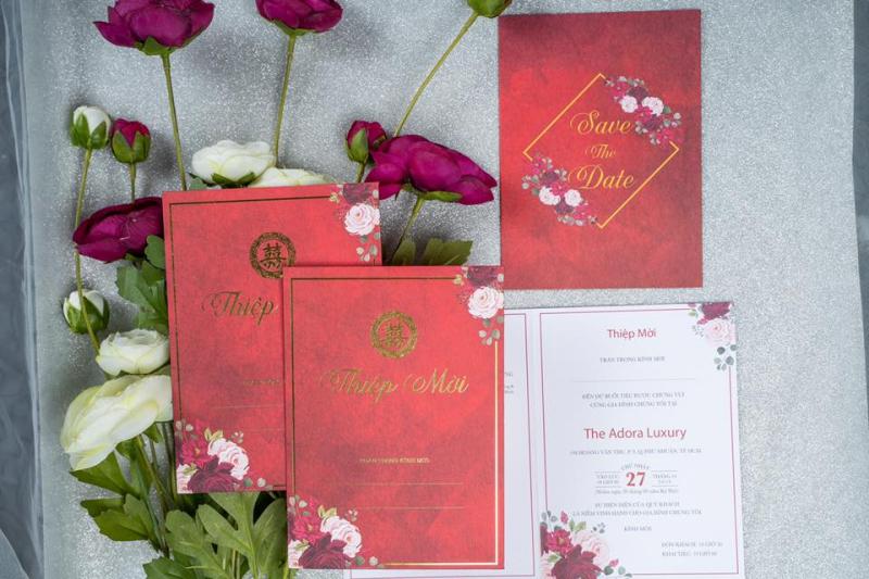 Top 5 Địa chỉ in thiệp cưới đẹp và chất lượng nhất TP. Biên Hòa, Đồng Nai