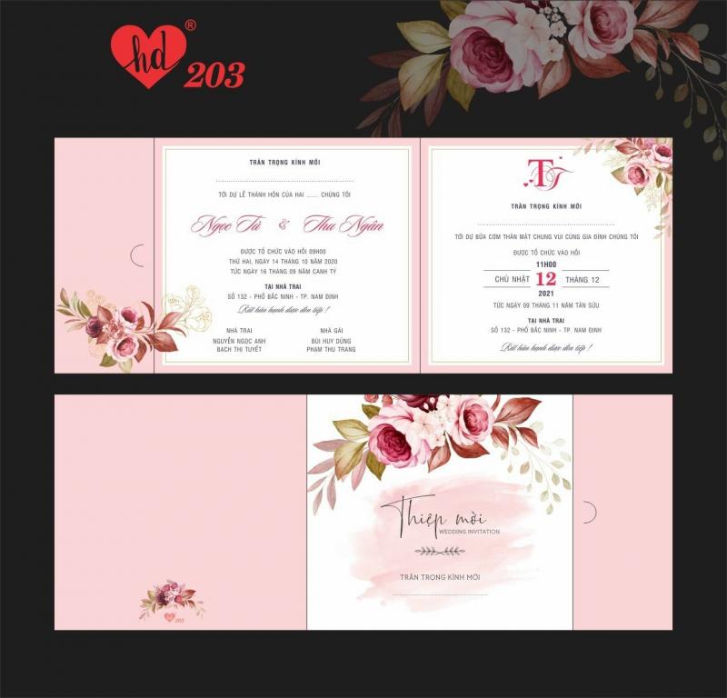 Top 5 Địa chỉ in thiệp cưới đẹp và uy tín nhất Lạng Sơn