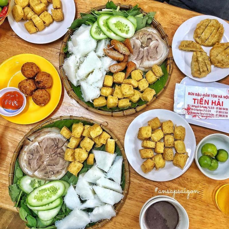 Top 8 Quán bún đậu mắm tôm được yêu thích ở quận 5, TP. HCM