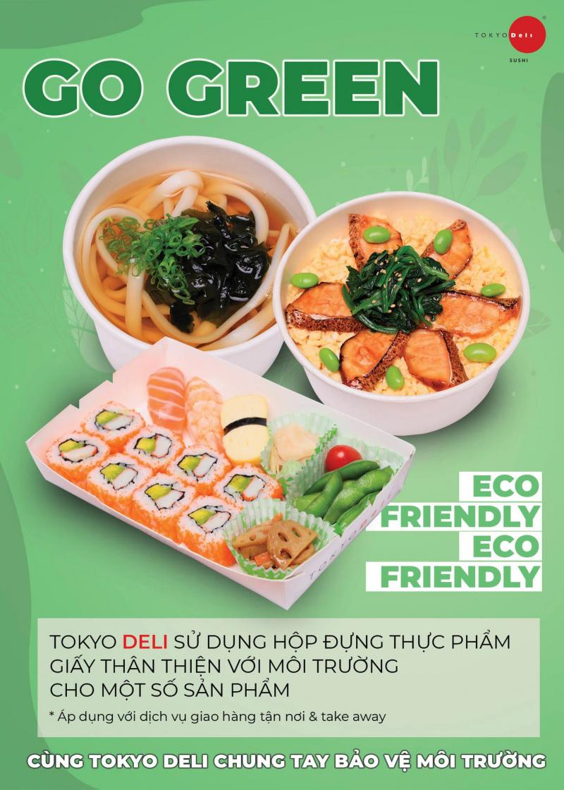 Top 9 Địa chỉ ăn sushi ngon nhất quận Cầu Giấy, Hà Nội