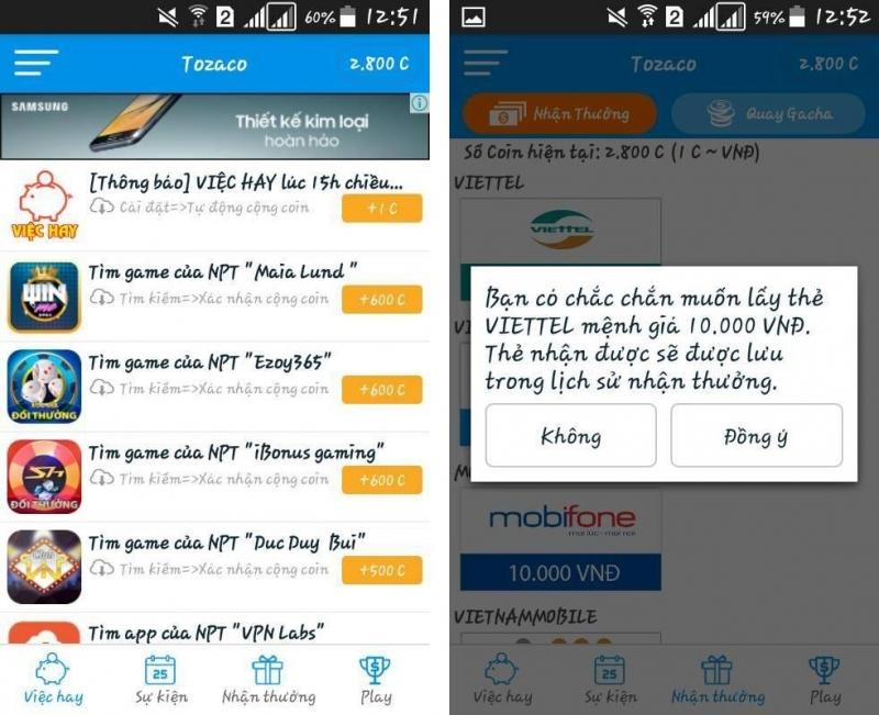 Top 5 Ứng dụng kiếm thẻ cào online trên điện thoại uy tín nhất