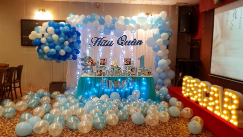 Top 7 Dịch vụ trang trí tiệc sinh nhật đẹp và uy tín nhất tại TP HCM