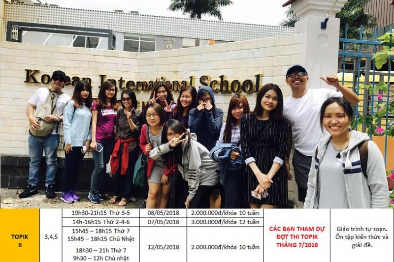 Top 3 Trung tâm học tiếng Hàn tốt nhất quận 3, TP. HCM