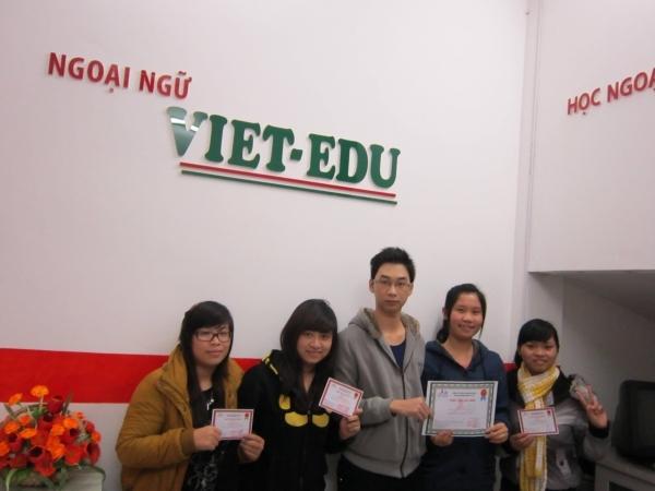 Trung tâm ngoại ngữ Viet – Edu ở Cầu Giấy, Hà Nội