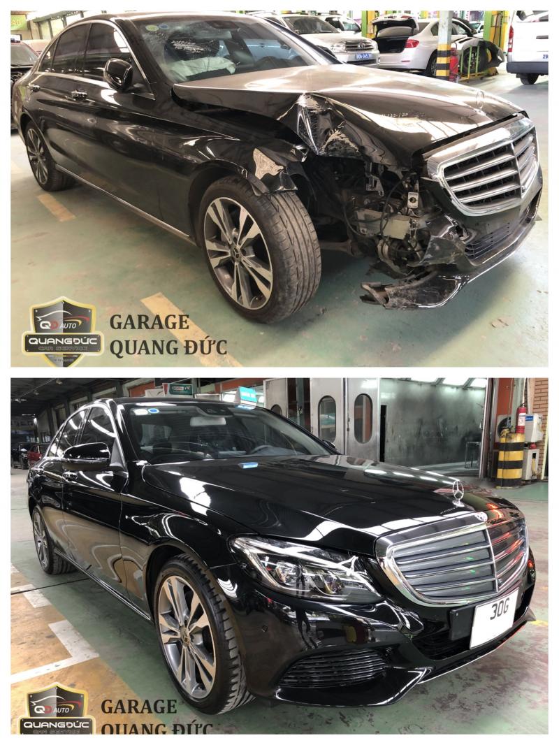 Top 5 Garage phục hồi xe xe ô tô tai nạn, va chạm tốt nhất tại Hà Nội
