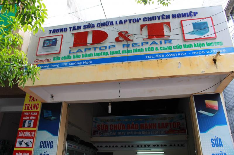 Top 6 Trung tâm sửa chữa máy tính/laptop uy tín nhất Quảng Ngãi