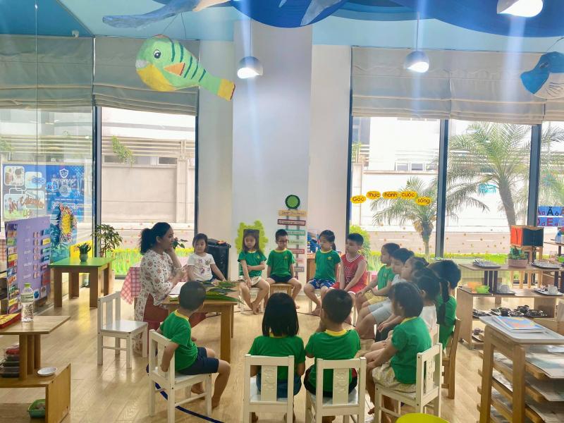 Top 6 Trường mầm non song ngữ tốt nhất tại quận Cầu Giấy, Hà Nội