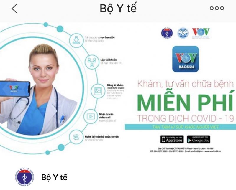 Top 8 Dịch vụ tư vấn, chăm sóc sức khỏe online tốt nhất Việt Nam