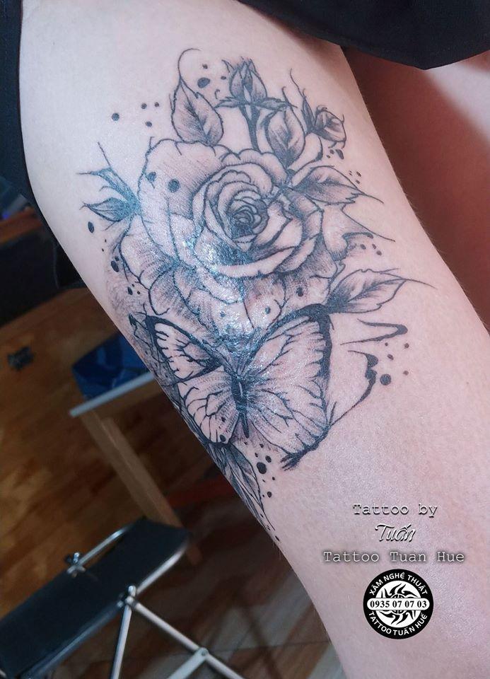 Tuấn Huế Xăm Hình Tattoo Đẹp