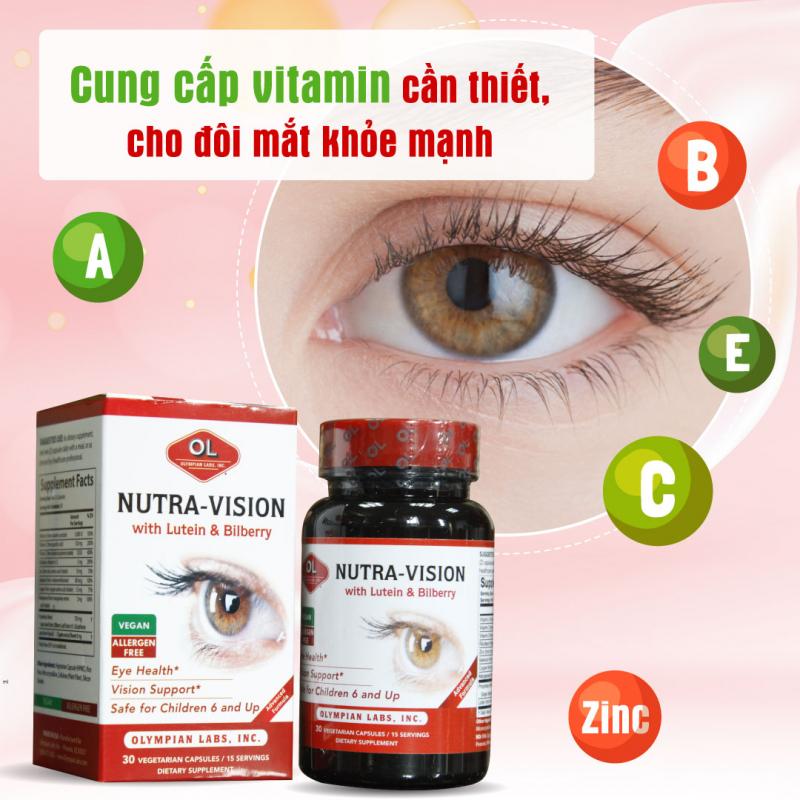 Top 7 Thực phẩm chức năng viên uống bổ mắt hiệu quả nhất hiện nay