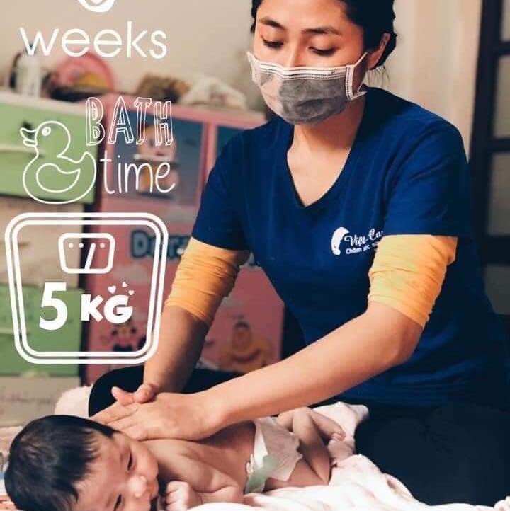 Top 6 Dịch vụ tắm bé sơ sinh chất lượng nhất tại Huế