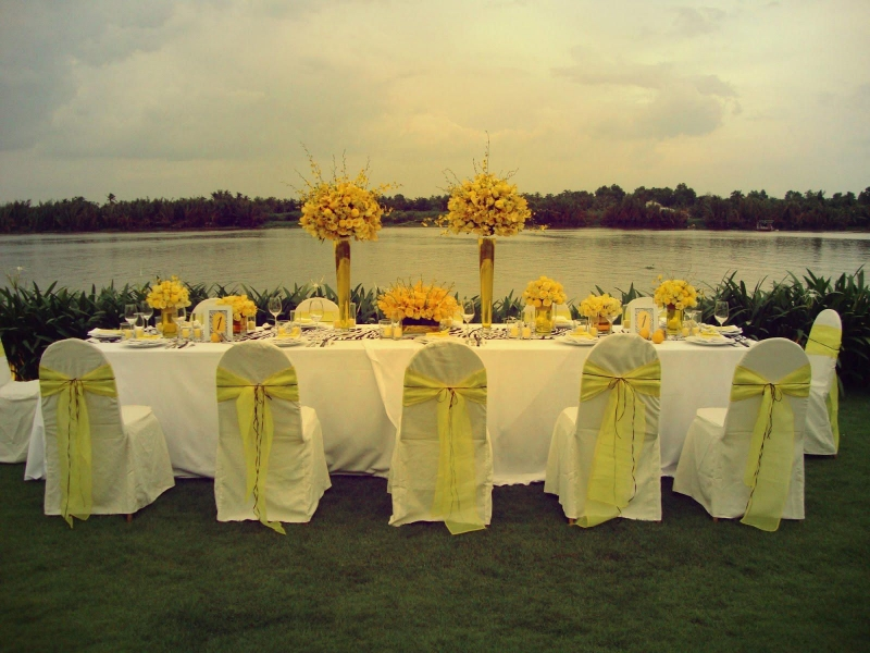 Top 10 địa chỉ lý tưởng nhất cho việc tổ chức tiệc cưới ngoài trời tại TPHCM