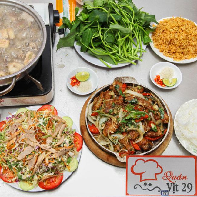Top 9 Quán vịt ngon nhất quận Cầu Giấy, Hà Nội