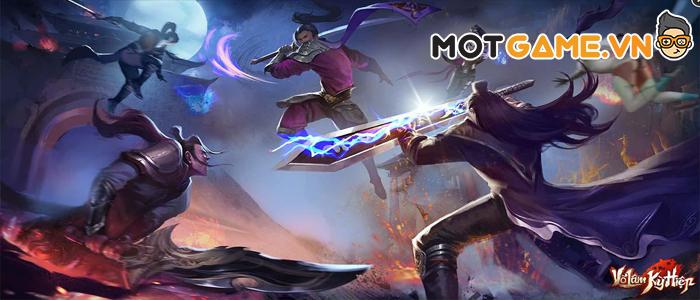 Võ Lâm Kỳ Hiệp siêu phẩm MMORPG đem cả vũ trụ Kim Dung lên Mobile