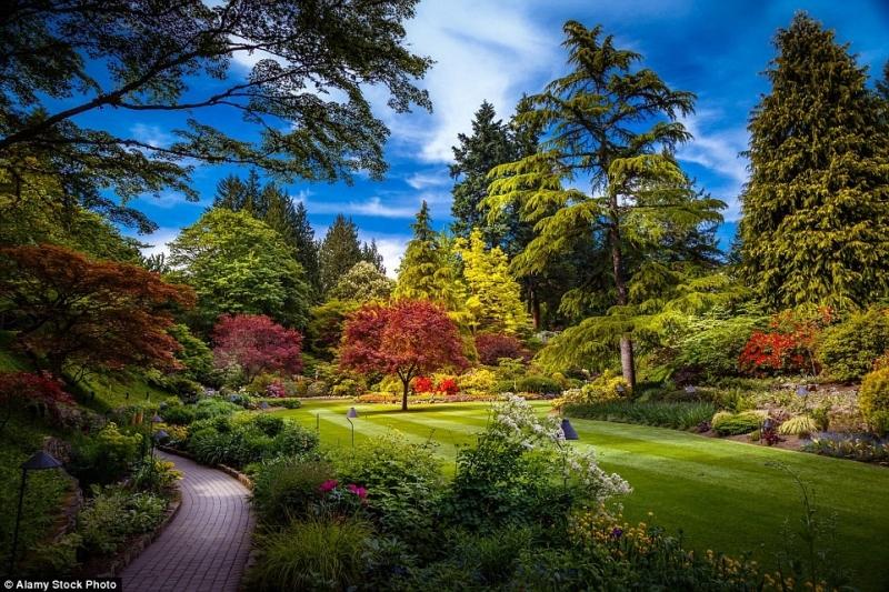 Top 13 Khu vườn đẹp như truyện thần tiên