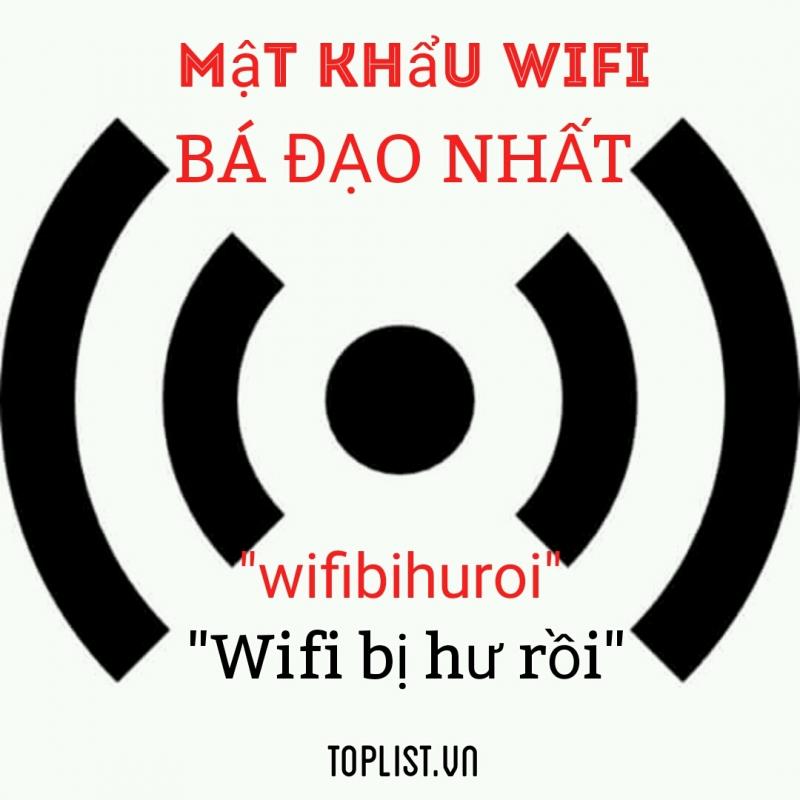 Top 7 Câu chuyện hài hước về password wifi