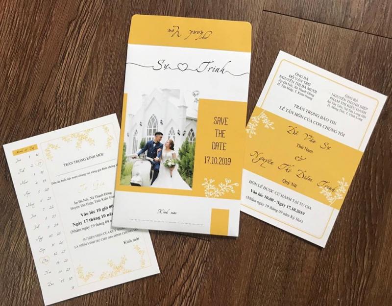 Top 4 Địa chỉ in thiệp cưới đẹp và chất lượng tại Bạc Liêu