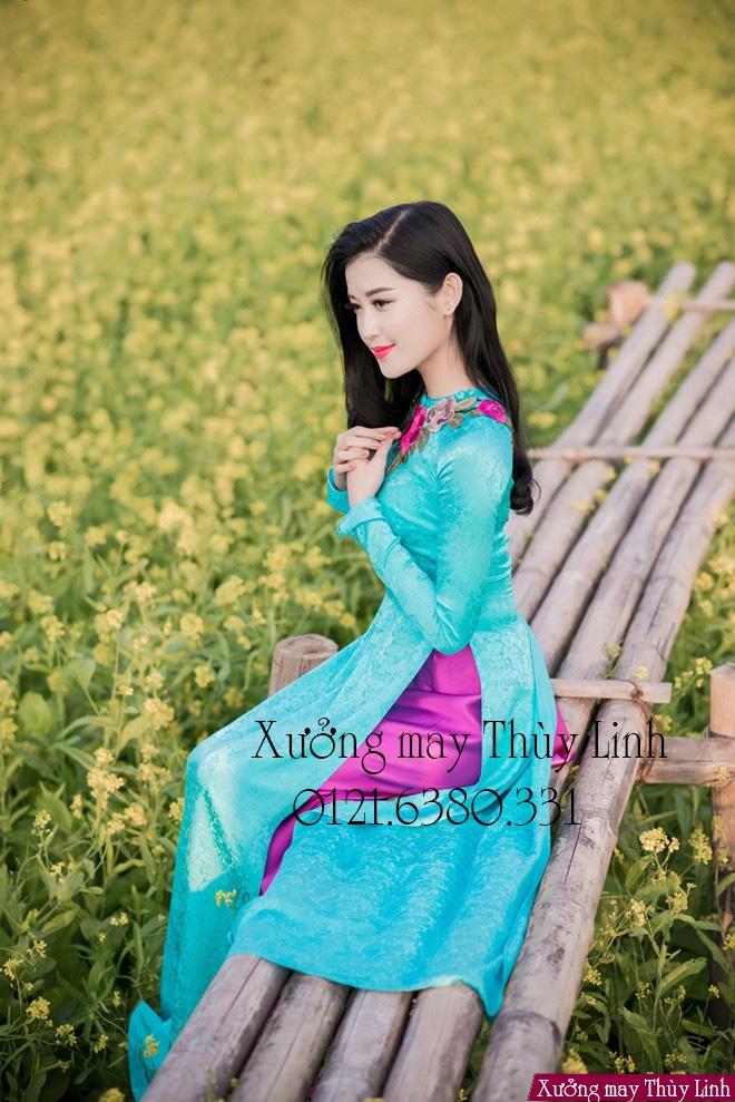 Top 10 địa chỉ may áo dài đẹp nhất Hà Nội