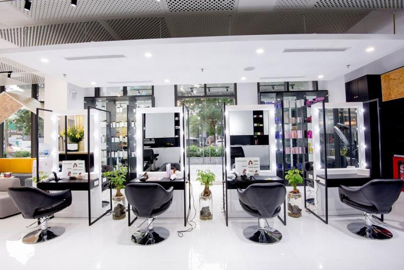 Không gian tại Zusso Hair Salon