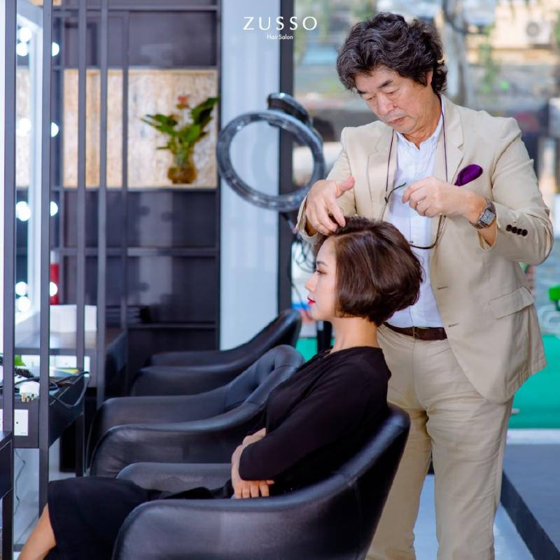 Nhà tạo mẫu tóc người Nhật tại Zusso Hair Salon