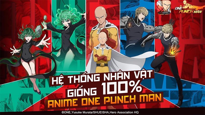 Những 'vũ khí' giúp One Punch Man: The Strongest chinh phục game thủ Việt