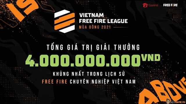 """Cộng đồng Free Fire """"đứng ngồi không yên"""" vì số tiền giải VFL mùa Đông 2021 lớn chưa từng có!"""