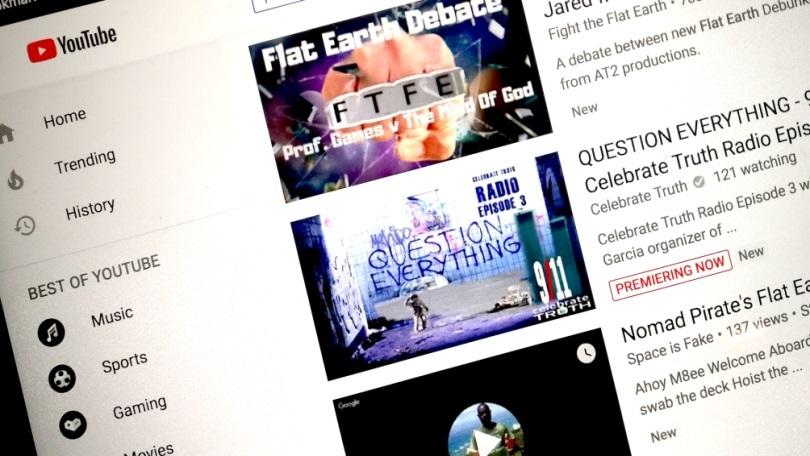 Thuật toán YouTube hiển thị các video đề xuất có khả năng gây hại