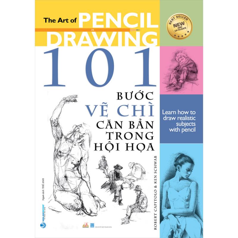 Top 10 Cuốn sách dạy vẽ căn bản cho người mới bắt đầu