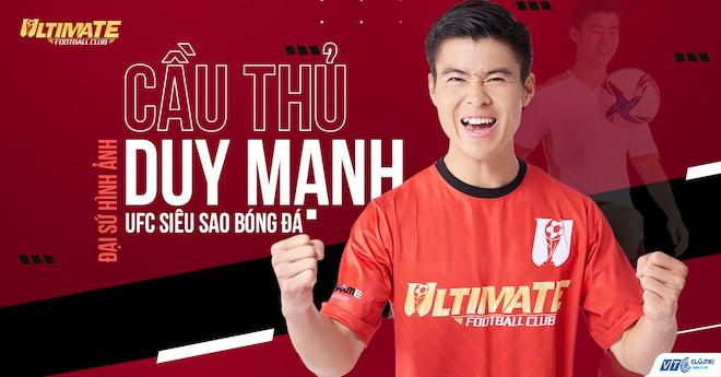 """Trung vệ thép Duy Mạnh háo hức """"đầu quân"""" cho game UFC – Siêu Sao Bóng Đá"""